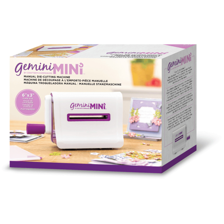 Gemini Mini  Handmatige Stans- en Embossing Machine