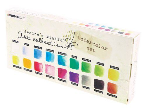 Studio Light Aquarelset Watercolor Jenine's Mindful 2.0 nr 01 WCJMA01