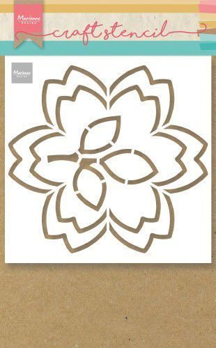 ps8054 Marianne D Craft Stencil bloesem  149x149mm (02-20)
