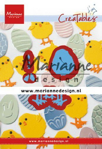 lr0644 Marianne D Creatable Tiny's paaskuiken  48x49mm (02-20)