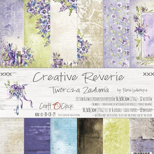 "Paper Collection Set 12""*12"" Creative Reverie, 250 gsm"
