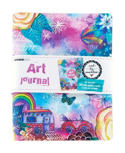 Studio Light Ringbinder Art Journal Art By Marlene 5.0 nr.09 JOURNALBM09 (02-19)