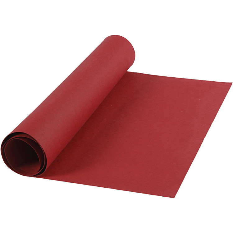 Faux Leather Papier ,rood