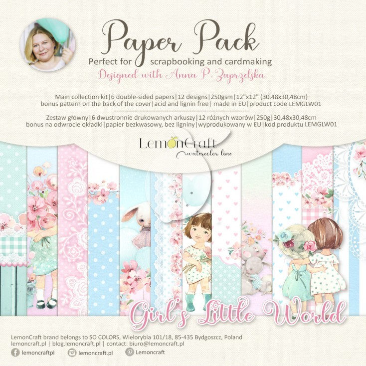 Lemoncraft - Paper Collection Set - Girl's Little World