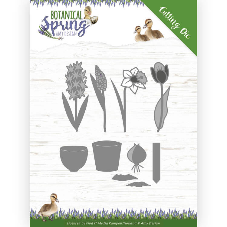 Dies - Amy Design - Botanical Spring - Bulbs and flowers