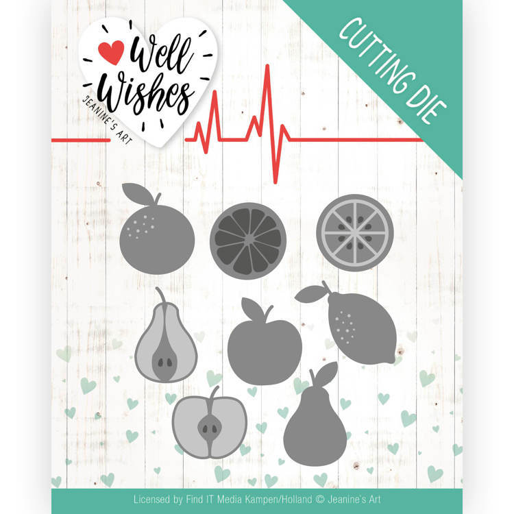 Dies - Jeanine's Art - Well Wishes - Fruits