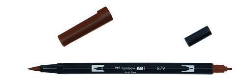Tombow ABT dubbele brushpen brown ABT-879