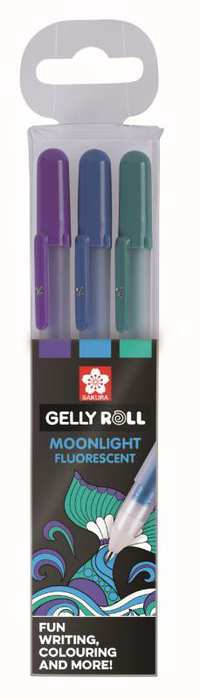 Sakura Gelly Roll Moonlight  Ocean- set van 3