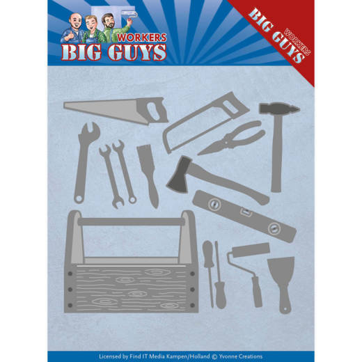 Dies - Yvonne Creations - Workers - Handyman Tools