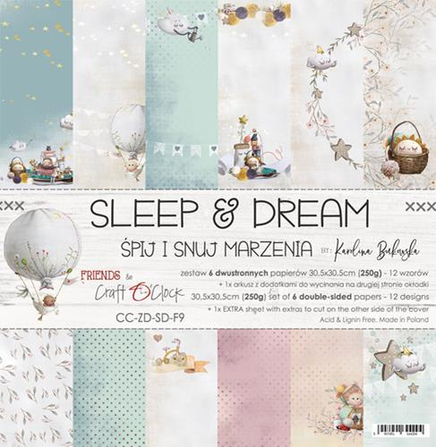 "Paper Collection Set 12""*12"" Sleep and Dream"