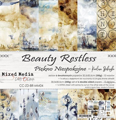 "Paper Collection Set 12""*12"" Beauty Restless"