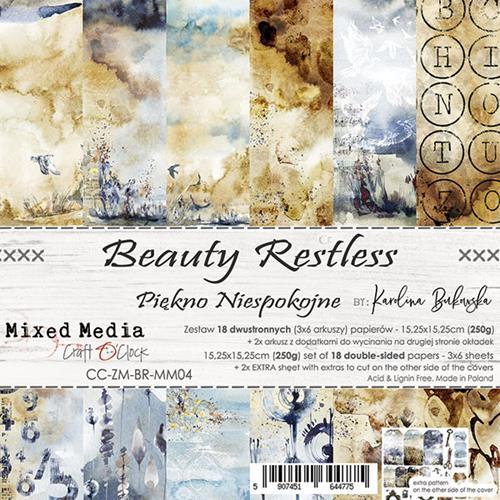 "Paper Collection Set 6""*6"" Beauty Restless"