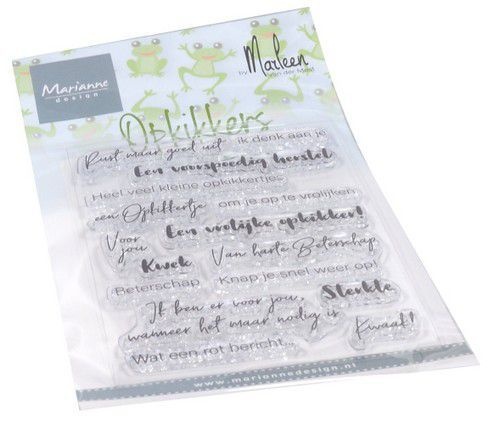 cs1065 Marianne D Clear Stamps Opkikkers by Marleen (NL) CS1065 182x117mm   (08-20)