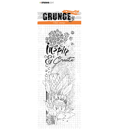 Studio Light - Clear Stamp - Grunge Collection - nr.496