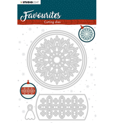 Studio Light - Cutting Die - Winter's Favourites - nr.340