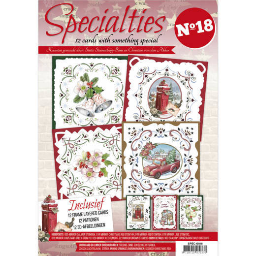 Specialties 18 inkl. stickerpakket