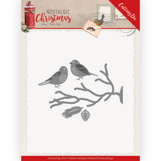 Dies - Amy Design - Nostalgic Christmas - Birds