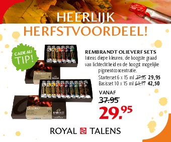 REMBRANDT OLIEVERF SETS