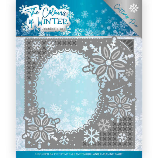 Dies - Jeanine's Art - The colours of winter - Winter Frame