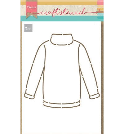ps8076 Craft Stencil - Craft stencil Sweater