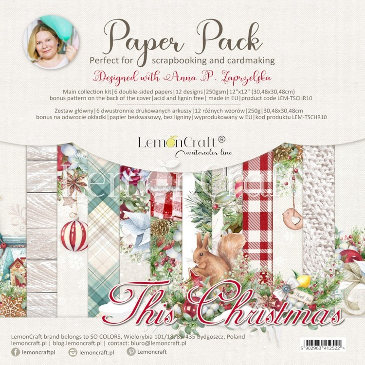 Lemoncraft - Paper Collection Set - This Christmas