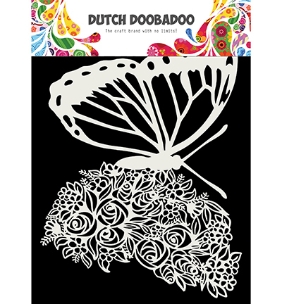 Dutch Mask Art, Butterfly