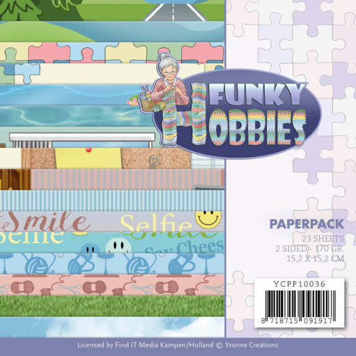 Paperpack - Yvonne Creations - Funky Hobbies
