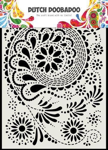 Dutch Doobadoo Dutch Mask Art Paisley A5 470.715.171 (12-20)