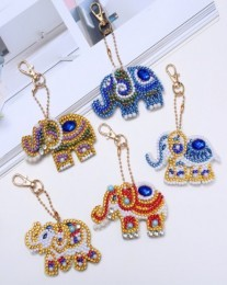 QC013 Diamond Painting Keychain Set 5pcs
