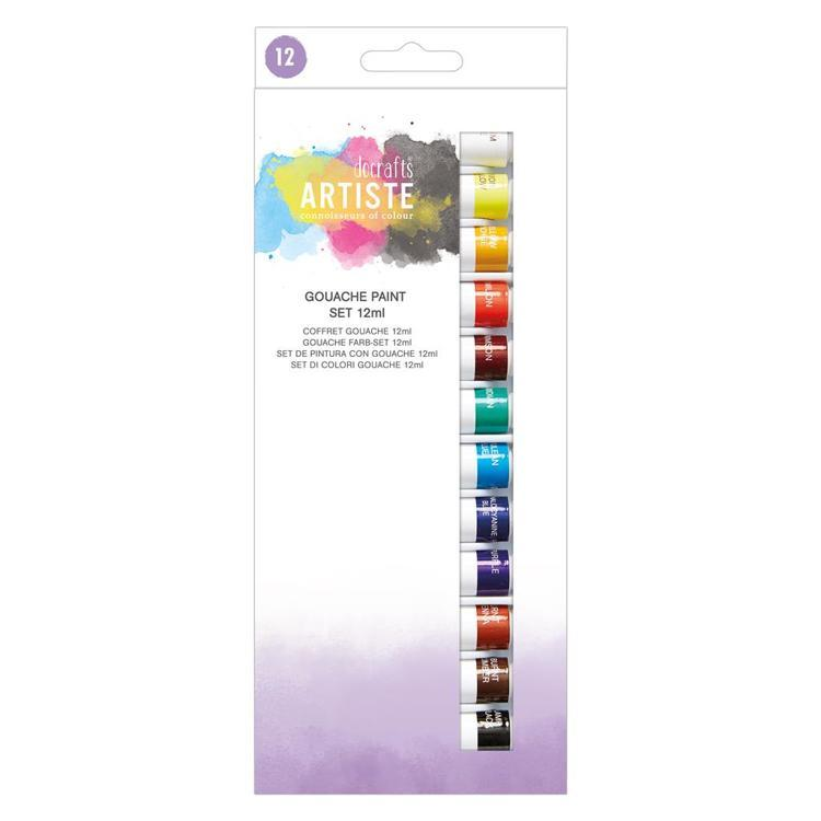 Gouache Paint Set (12pk) - 12ml