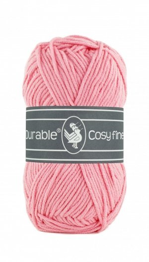 Durable Cosy fine flamingo pink