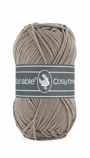Durable Cosy fine warm taupe