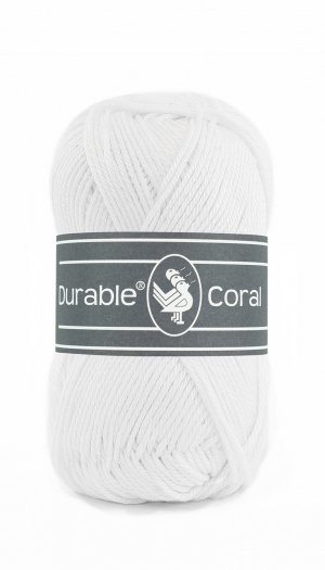 durable coral white