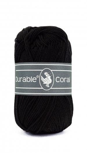durable coral Black