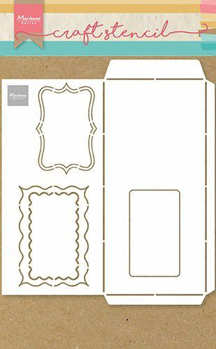 Marianne D Craft Stencil - A4 - Slimline envelop PS8079  (02-21)
