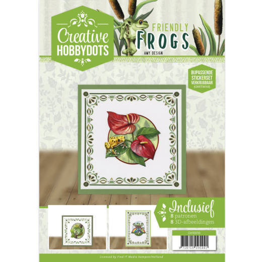 Creative Hobbydots 10 incl. dots - Amy Design - Friendly Frogs