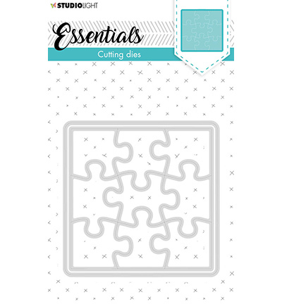 SL Cutting Die Small shape square puzzle Essentials nr.388