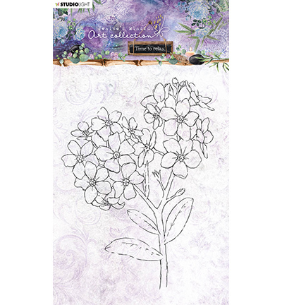 JMA Clear Stamp Forget-me-not Time to Relax 2.0 nr.22