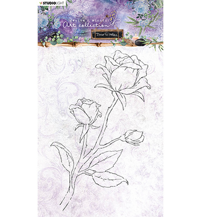 JMA Clear Stamp Rose Time to Relax 2.0 nr.21