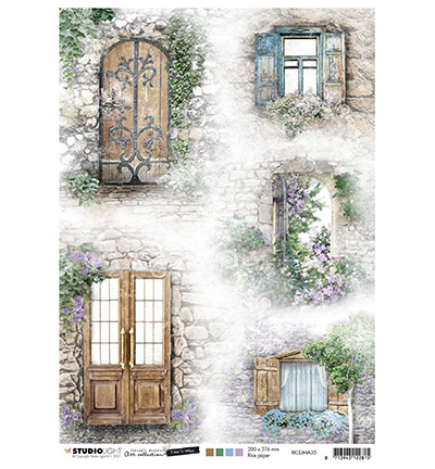 JMA Rice Paper Doors & windows Time to Relax 2.0 nr.35