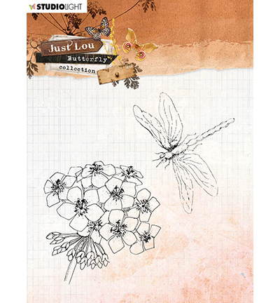 JL Clear Stamp Butterfly Collection nr.15