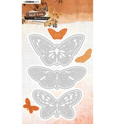 JL Cutting & Emb. Die Butterfly Collection nr.19