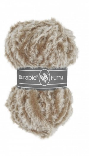 Durable Furry 228 silver grey