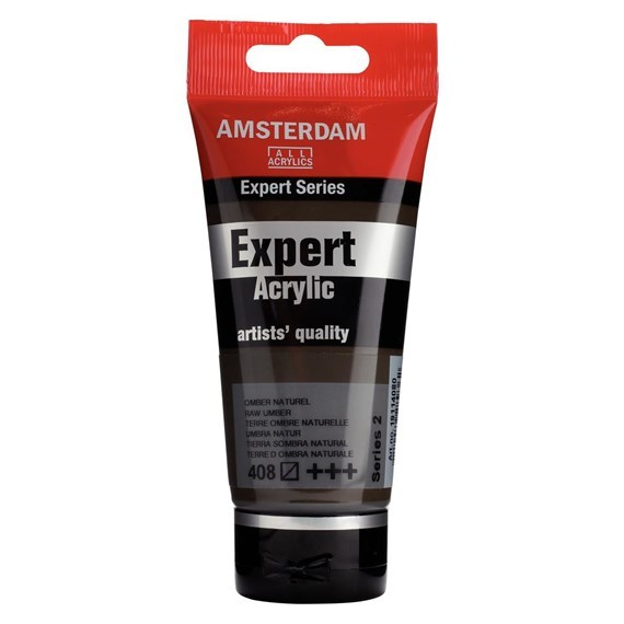 Expert Series Acrylverf Tube 75 ml Omber Naturel 408