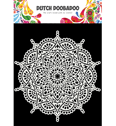 Dutch Mask Art Mandala