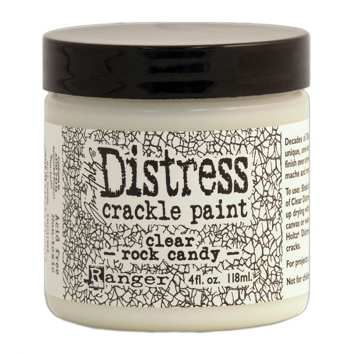 Ranger  Tim Holtz Distress crackle paint Clear rock candy