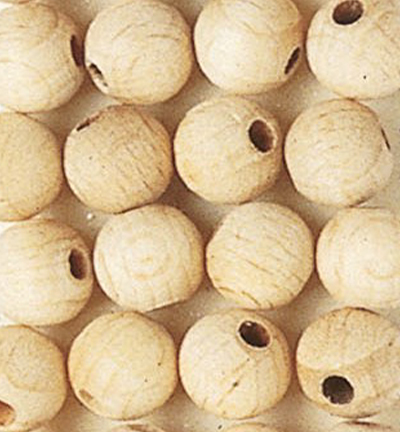 Wooden Beads Naturel, 8mm