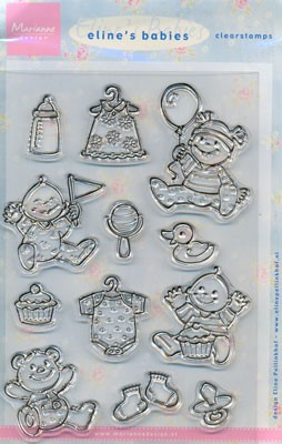 Clear Stamps EC0107 MD clearstamp eline