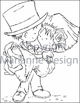 clear stamp Don&Daisy