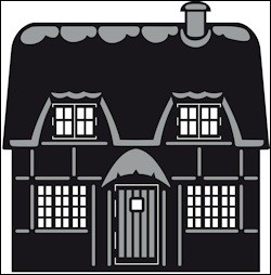 CR 1219 craftables stencil english cottage